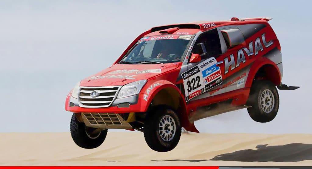 Noticias Ambacar Haval en Rally Dakar 2012
