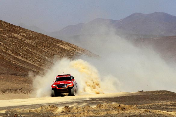 Noticias Ambacar Haval Dakar 2014 campeón del dakar se acerca