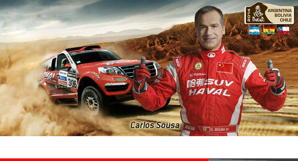 Noticias Ambacar Great Wall Nº1 En la primera etapa del Rally Dakar 2014