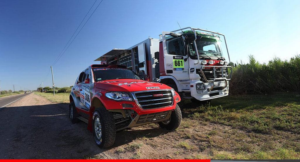 Noticias Ambacar Great Wall termina la etapa 2 con resultados mixtos - Rally Dakar etapa 2
