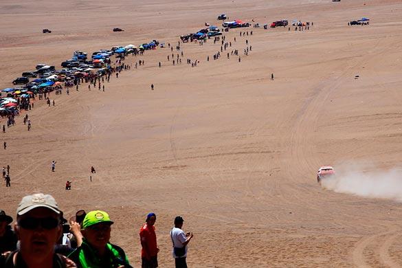 Noticias Ambacar Great Wall sigue firme durante la etapa 9 público en el desierto