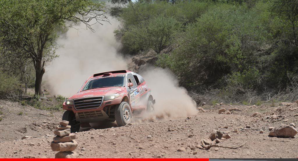 Noticias Ambacar Haval Dakar 2014 entre los 10 primeros