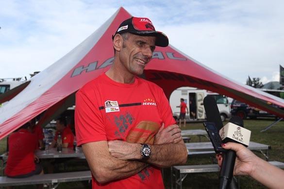 Noticias Ambacar Haval Dakar 2014 sexta etapa Christian