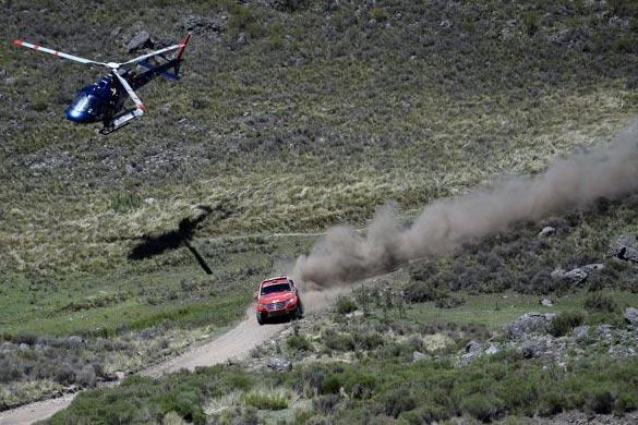 Noticias Ambacar Haval Dakar 2014 sexta etapa potencia