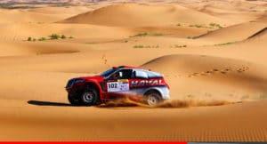 Noticias Ambacar Gran Rally de China desierto