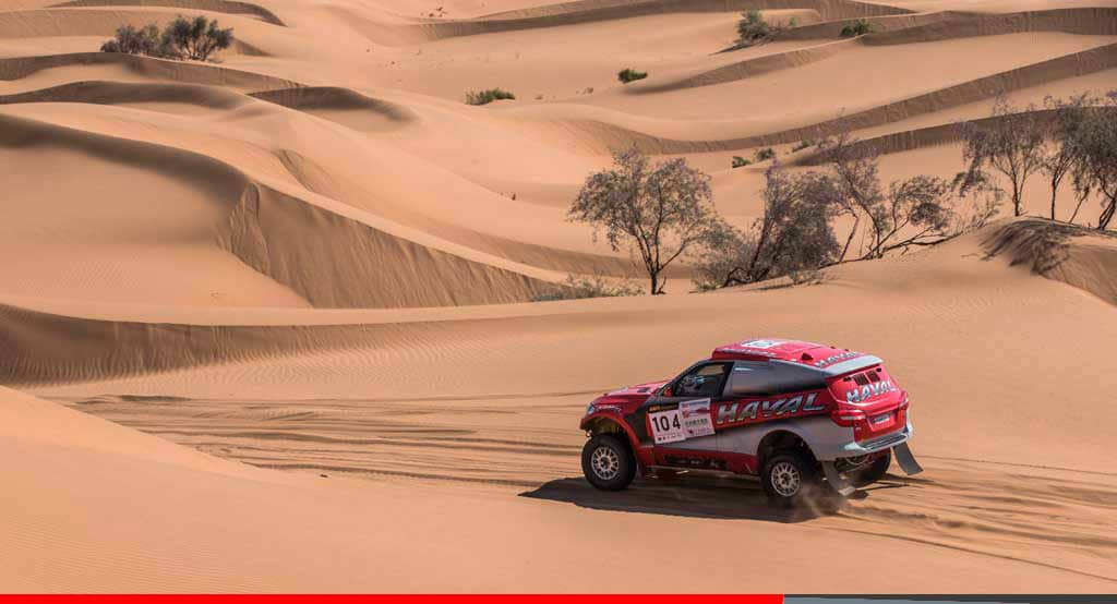 Noticias Ambacar Gran Rally de China Han Wei