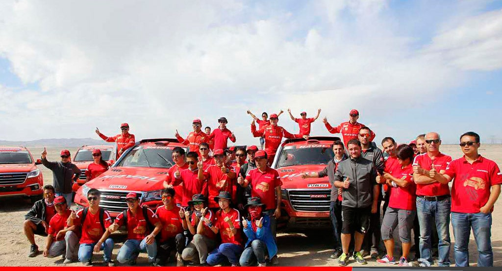 Noticias Ambacar Gran Rally de China