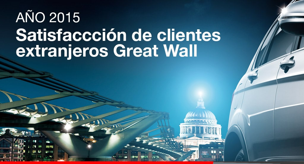 Noticias Ambacar Encuesta de satisfacción para clientes de Great Wall Motor 2015