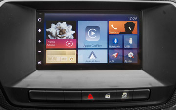 Camioneta Ambacar Great Wall Wingle S con radio multimedia
