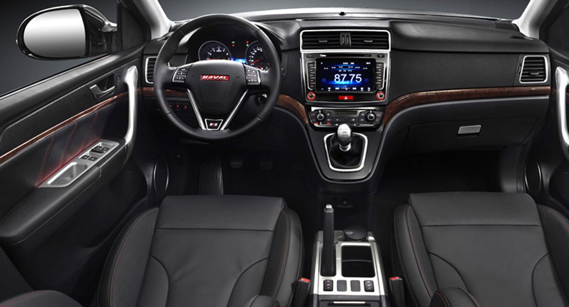 Haval H Galeriainterior on Red Integra Interior