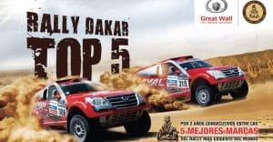 Great Wall entre las 5 Mejores Marcas del Rally Dakar