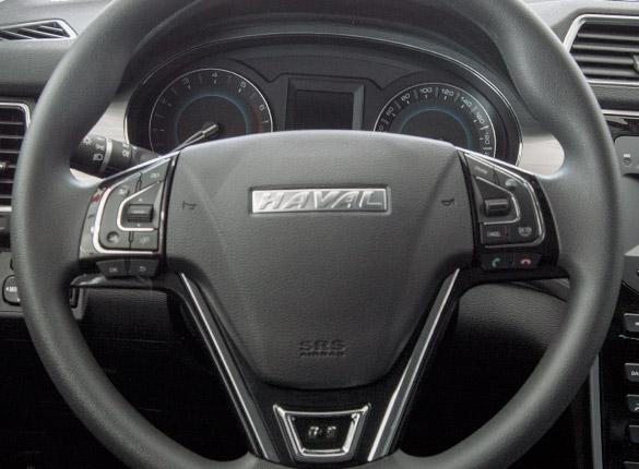 SUV Ambacar Haval H2, volante multifunción