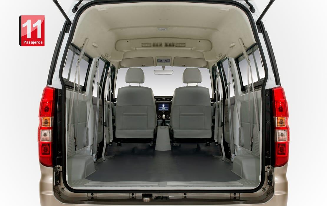 Shineray X30L Interior 11 pasajeros