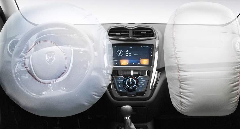 Van Ambacar Shineray MPV 750 sistema de seguridad con airbags
