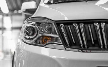 Van Ambacar Shineray MPV 750 radio con luces halógenos