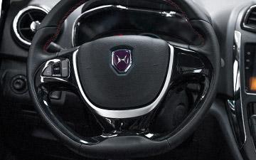 Van Ambacar Shineray MPV 750 control del radio al volante