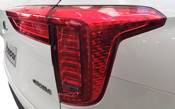 SUV Ambacar Haval All New H2 faros posteriores
