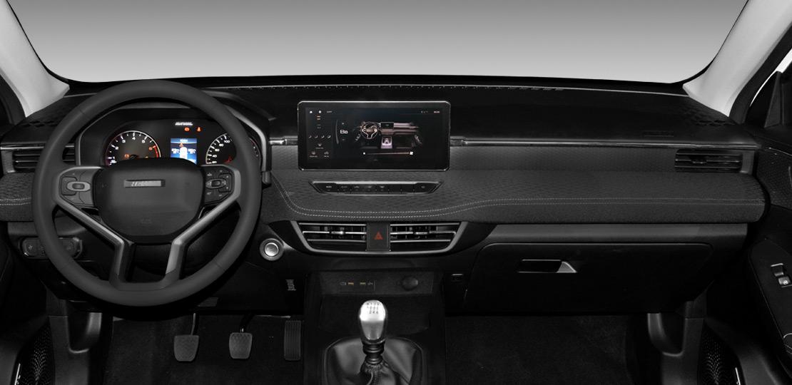 SUV Ambacar Haval All New H2, tablero delantero con gran lujo