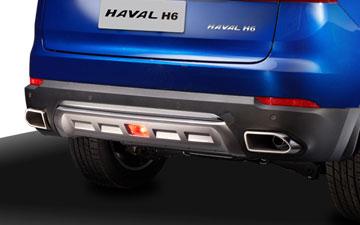SUV Ambacar Haval All New H6 con doble salida de tubos de escape