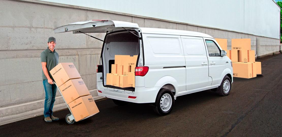 Van Ambacar Shineray X30 de carga, soy compacta
