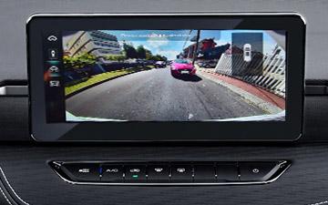 SUV Ambacar Haval All New H2, con 4 opciones de visualización cámara de reversa
