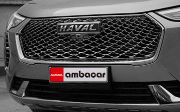 SUV Ambacar Haval All New H2 Jolion diseño moderno de la parrilla frontal