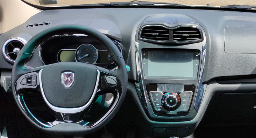 Van Ambacar Shineray MPV750 tablero delantero