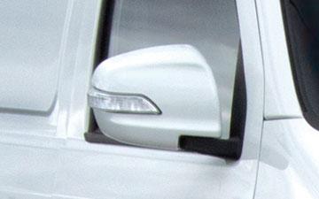 Van Ambacar Shineray X30 de carga con direccionales en espejos retrovisores