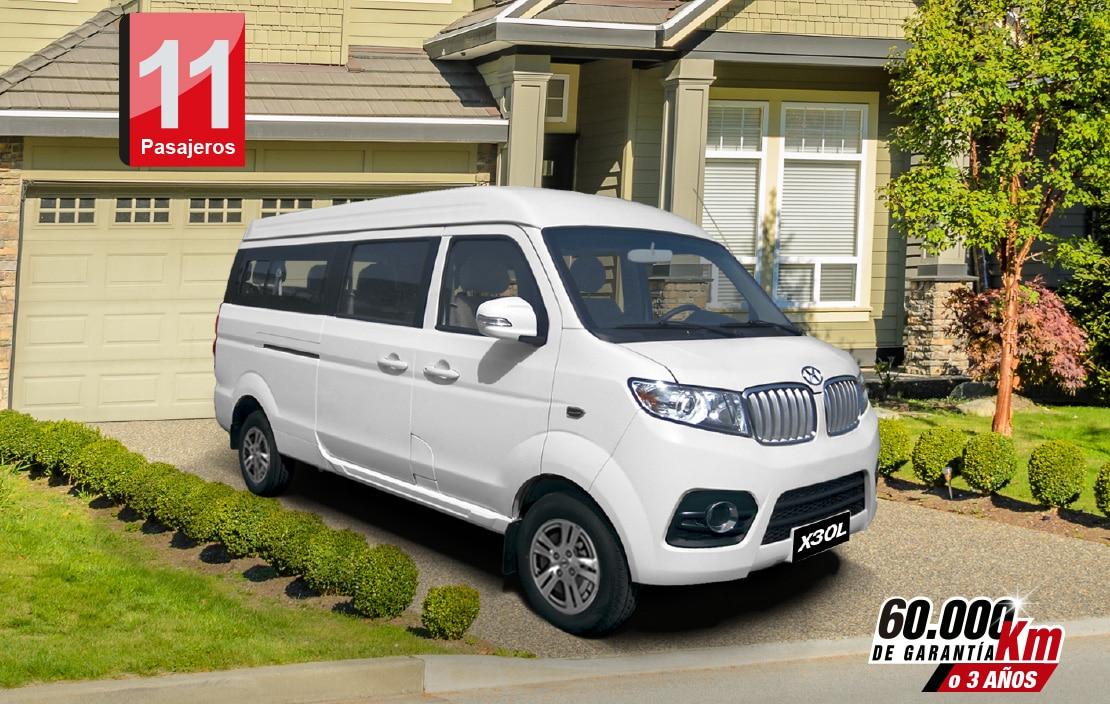 Van Van Shineray X30L 11 pasajeros