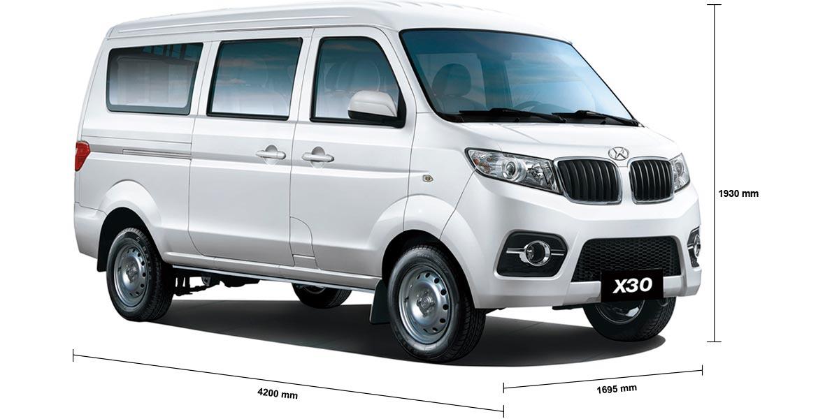 Van Shineray X30 soy compacta