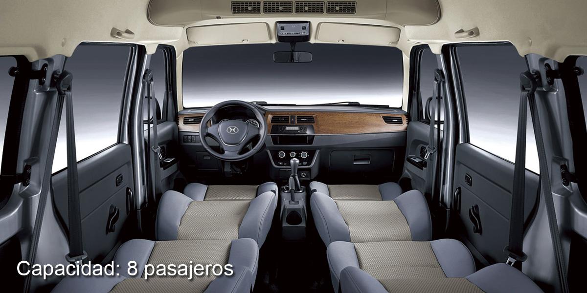 capacidad_interior van 8 pasajeros