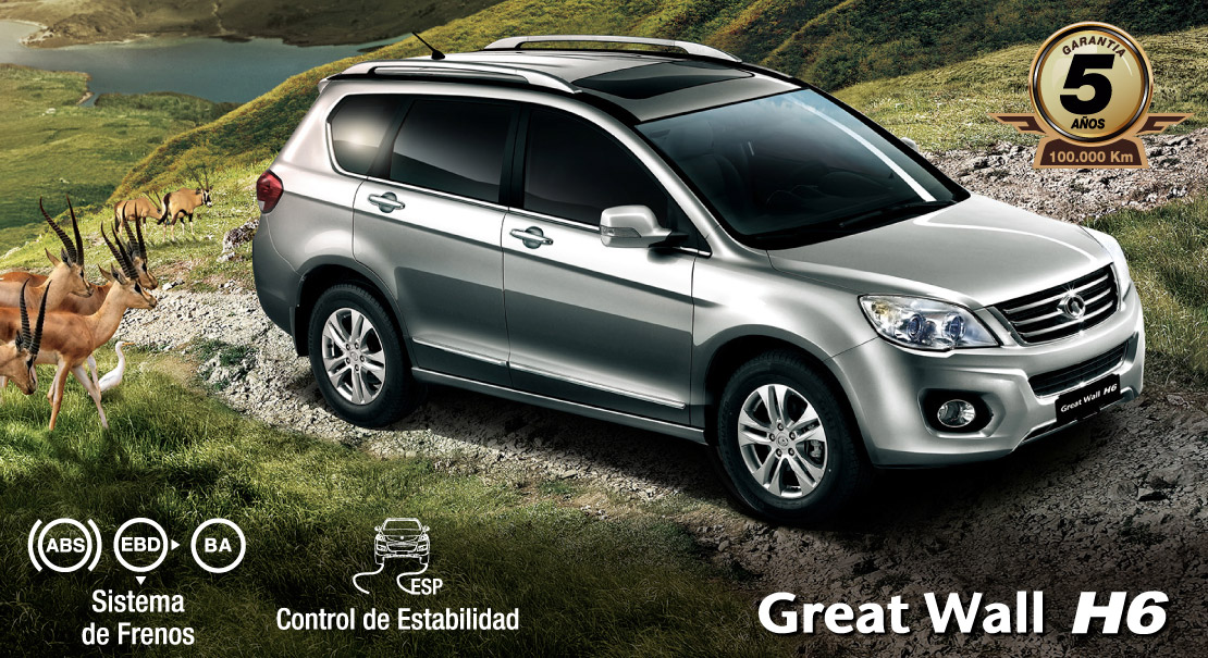 Great Wall H6-suv ideal-full equipo