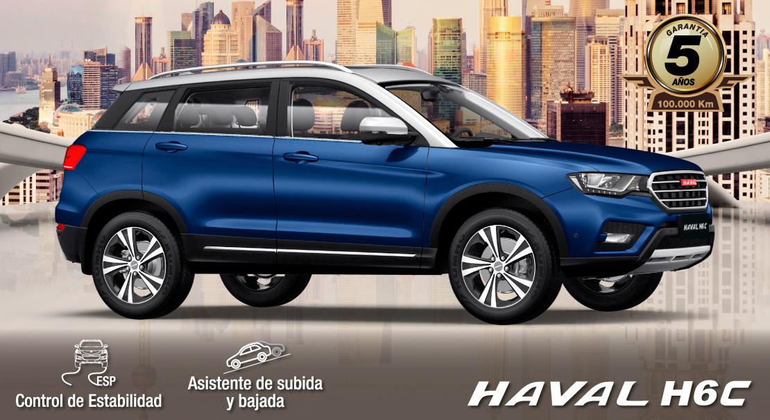 Haval-H6C- diseno contemporaneo -full equipo