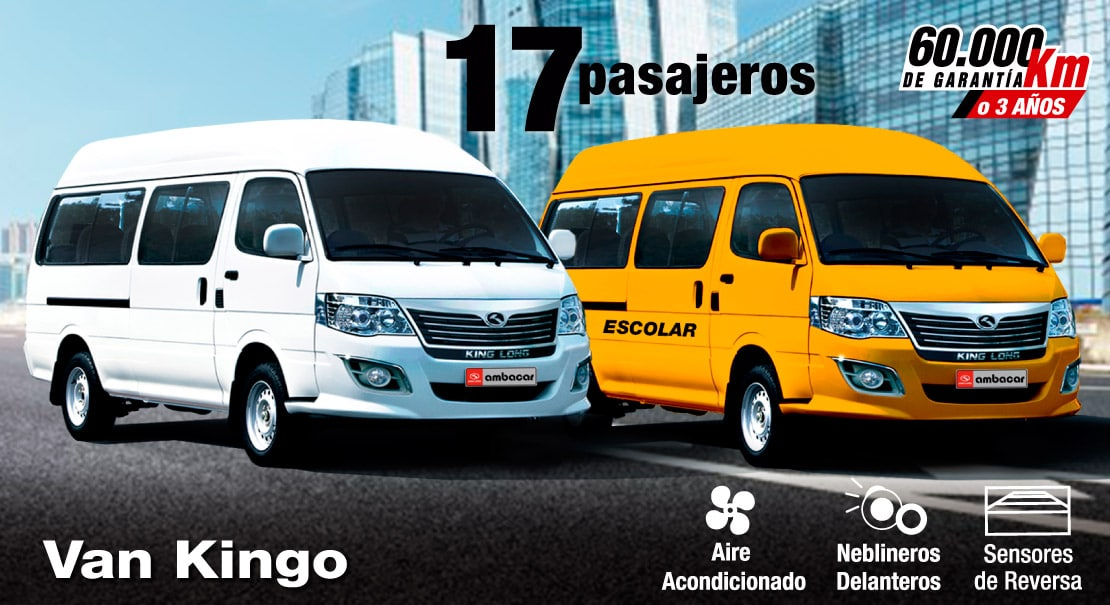 King-Long- van ideal-furgoneta ideal-17 pasajeros-turismo-escolar-transporte