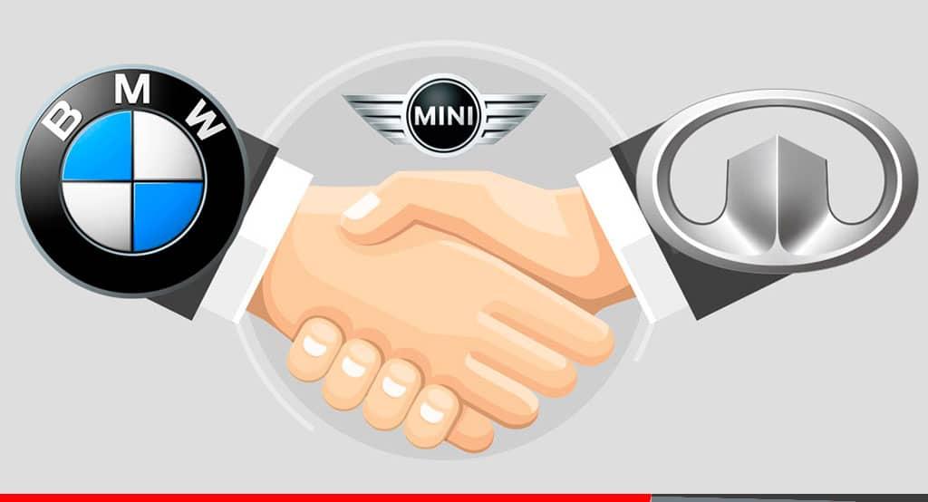 Noticias Ambacar alianza GWM y BMW, contrato GWM -BMW vehiculos electricos