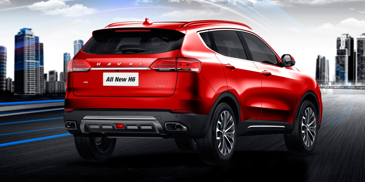 Haval All New H6 Posterior