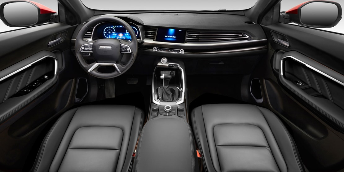haval all new h6 galería interior