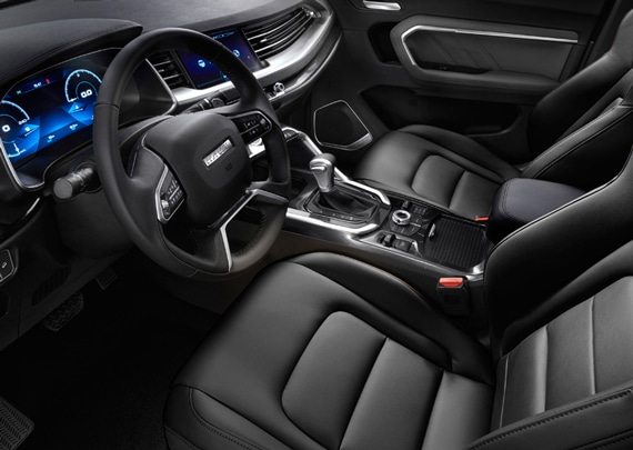 haval all new h6 interior asientos