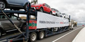Noticias Ambacar primera exportación de CIAUTO