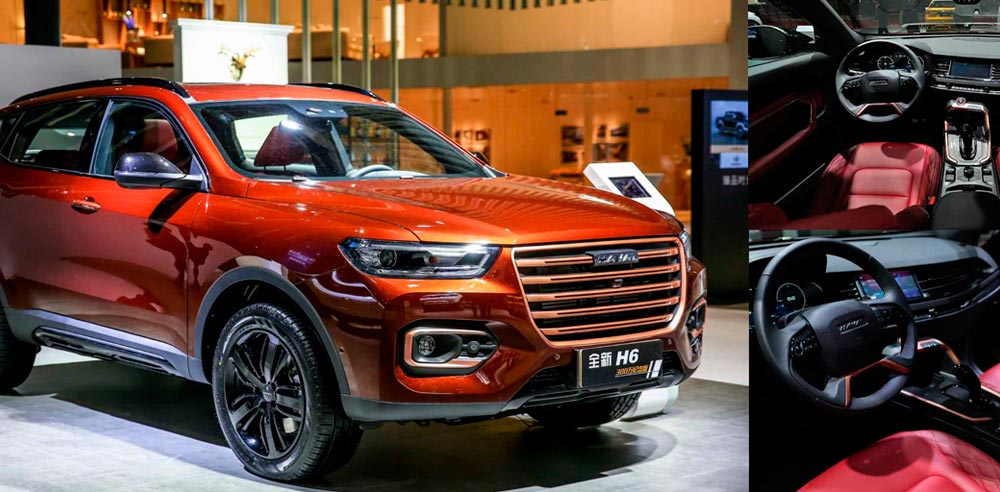 Noticias Ambacar Autoshow Shangai Great Wall Motos, Haval