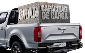 Camioneta Ambacar Great Wall Wingle 7 capacidad de carga 1000 kg