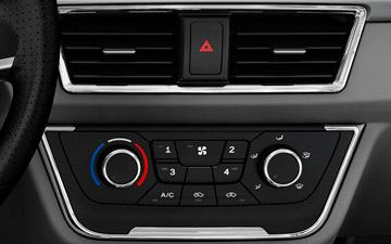 Van Shineray X30LS con doble salida de aire acondicionado