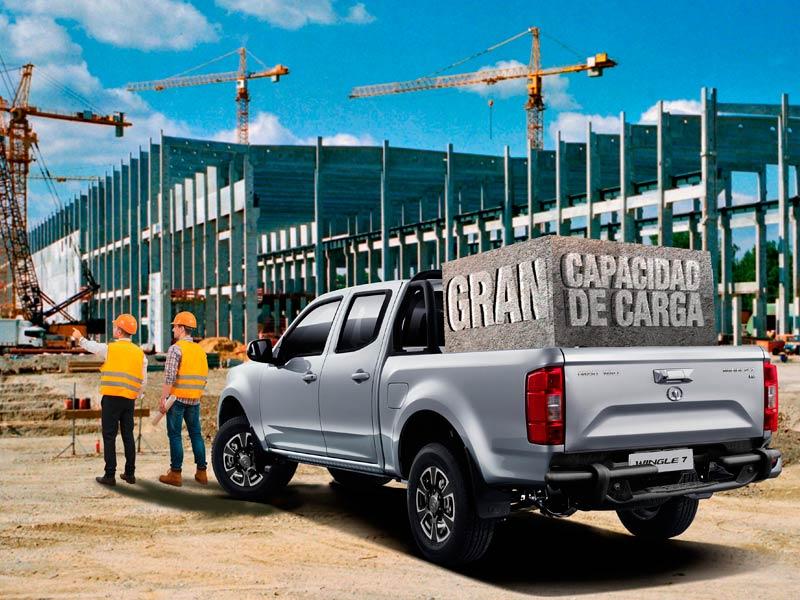 Camioneta Ambacar Great Wall Wingle 7 doble cabina para trabajos duros