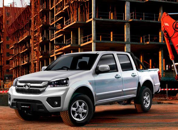 Camioneta Ambacar Great Wall Wingle S con un frente imponente