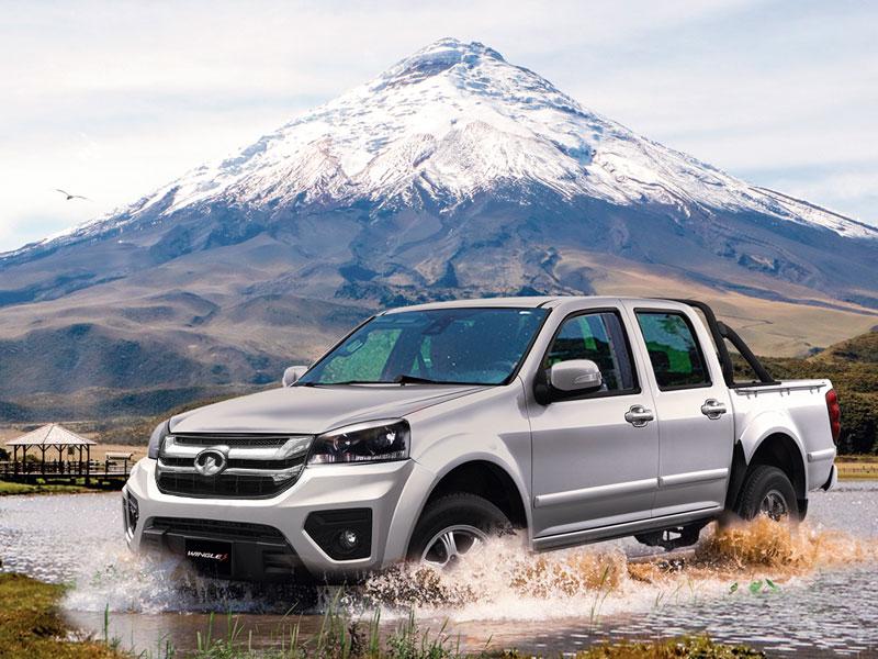 Camioneta Ambacar Great Wall Wingle S 4x2 viajes seguros