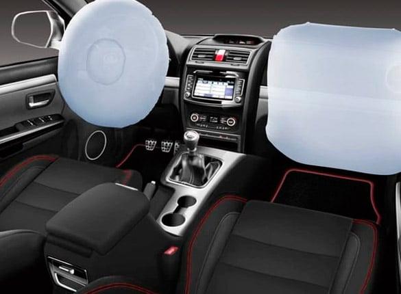 SUV Great Wall H3 seguridad con 2 airbags delanteros