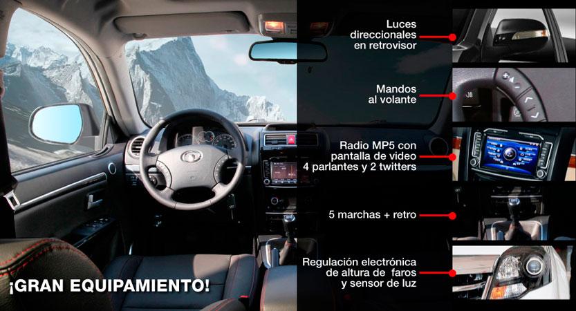 SUV Great Wall H3 extras incluídos