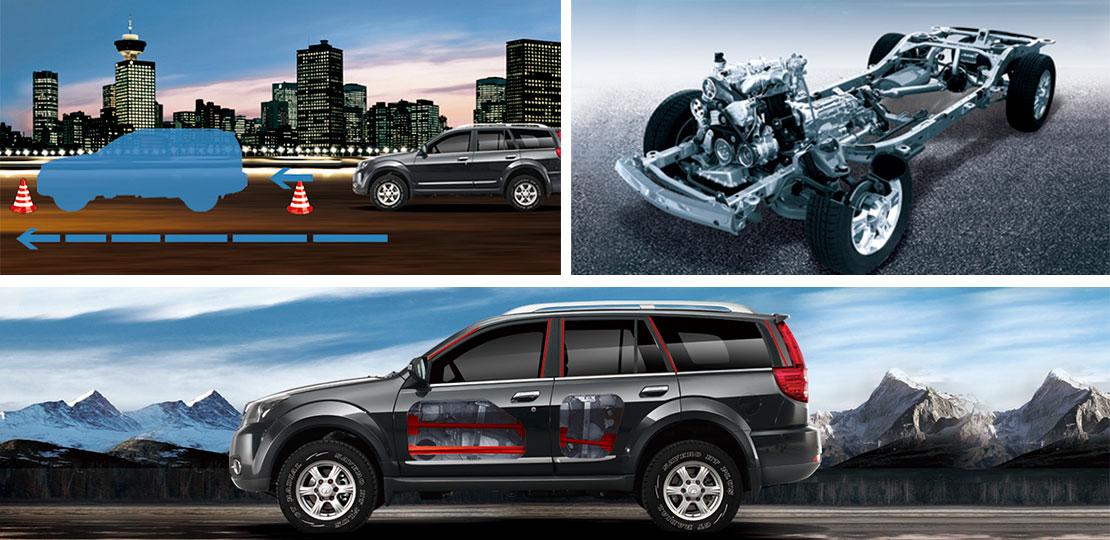 SUV Great Wall H3 gran seguridad, repuestos asegurados