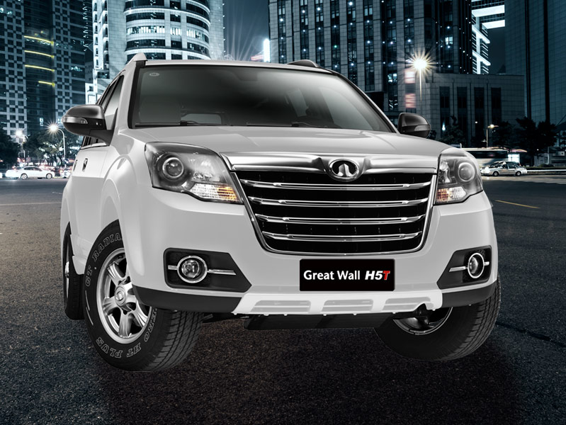 SUV Great Wall H3 imponente a toda hora