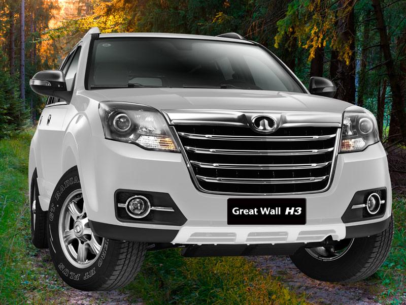 SUV Great Wall H3 úsalo en todos lados